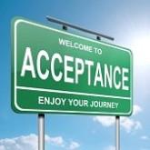 accetptance